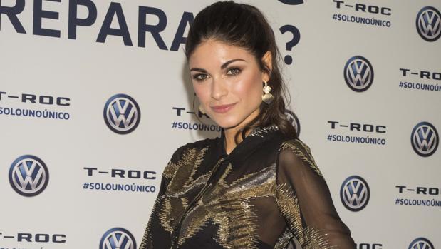 Linda Morselli, el pasado jueves, en la presentación del Volkswagen T-Roc