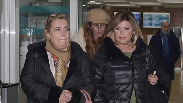 Carmen Borrego, Terelu Campos y Rocío Carrasco