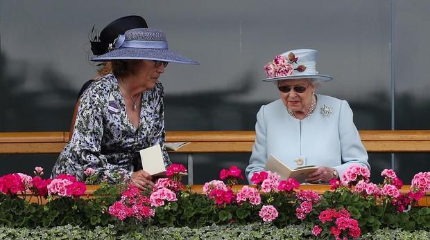 Reina Isabel II en Ascot
