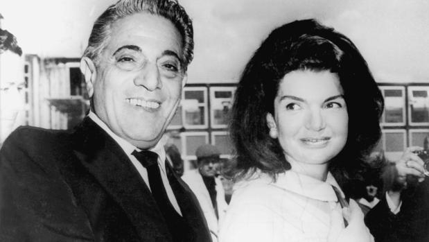 Aristóteles Onassis y Jackie Kennedy Onassis