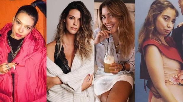 Alejandra Rubio, Laura Matamoros, Anna Ferrer y Andrea Janeiro