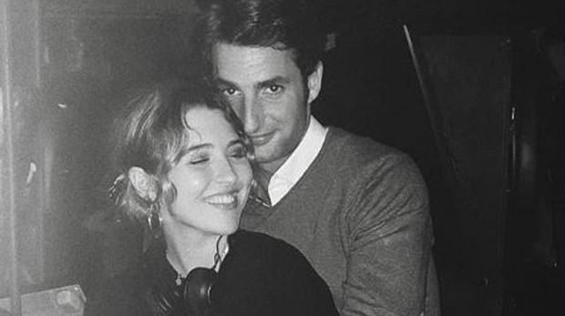Alba Díaz y su novio, Javier Calle Mora