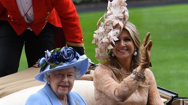 La Reina Isabel y Máxima de Holanda