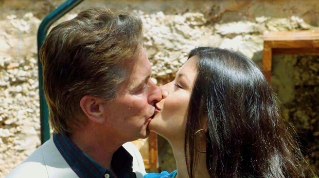 Foto de archivo de Michael Douglas y Catherine Zeta-Jones en Mallorca en 2001
