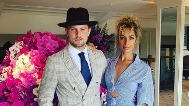 Dennis Jauch y Leona Lewis
