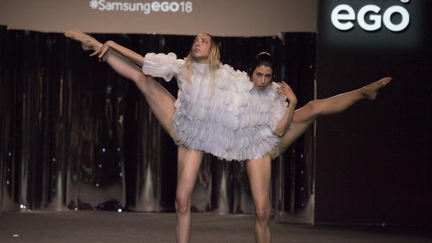 Diseño de la firma Zapico&Buj en la pasarela Mercedes Benz Fashion Week Madrid
