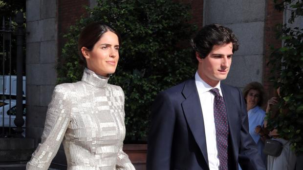 Fernando Fitz James Stuart y Solis and Sofia Palazuelo