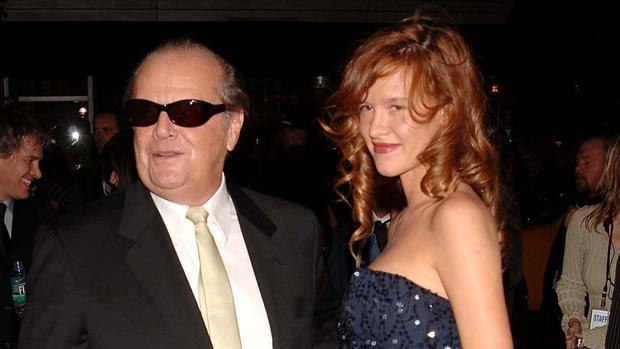 La actriz, en 2006, con Jack Nicholson