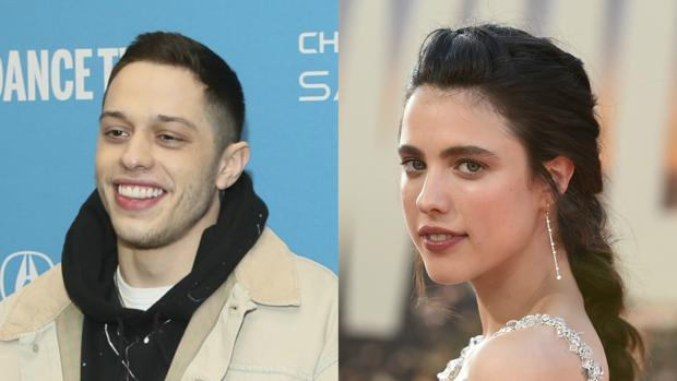 Pete Davidson y Margaret Qualley