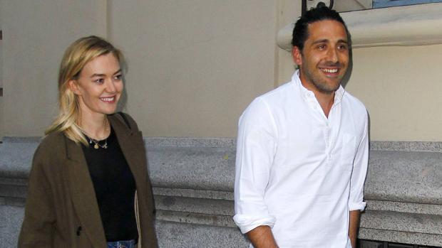 Carlos Torretta y su mujer, Marta Ortega
