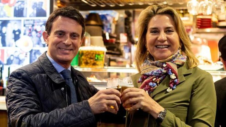La boda «gitana» de Manuel Valls y Susana Gallardo