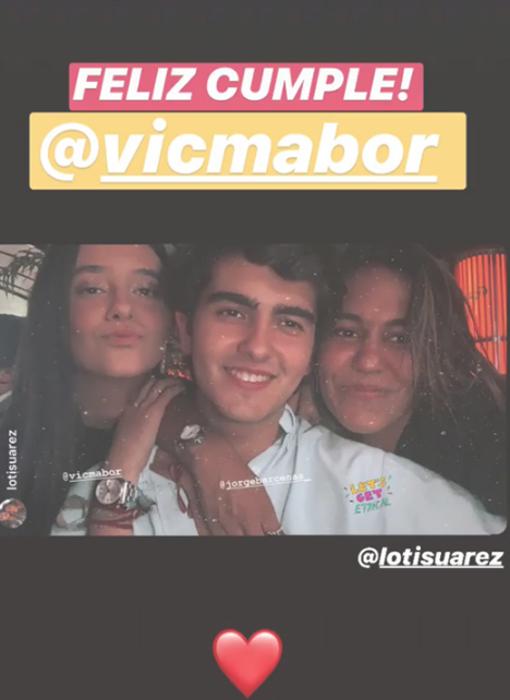 Victoria Federica junto a sus amigos en la celebración de su cumpleaños