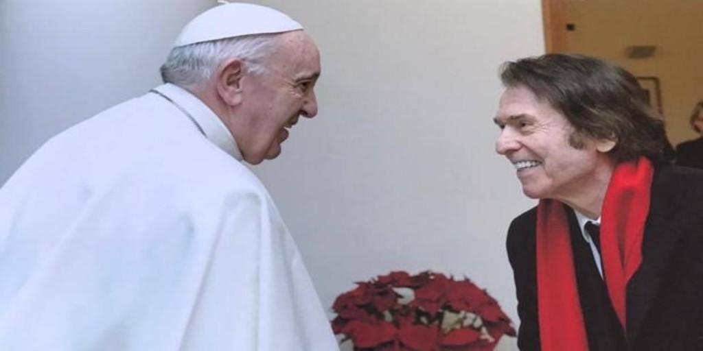 Raphael se reúne con el Papa e inaugura un proyecto solidario para los «sin techo» en Roma