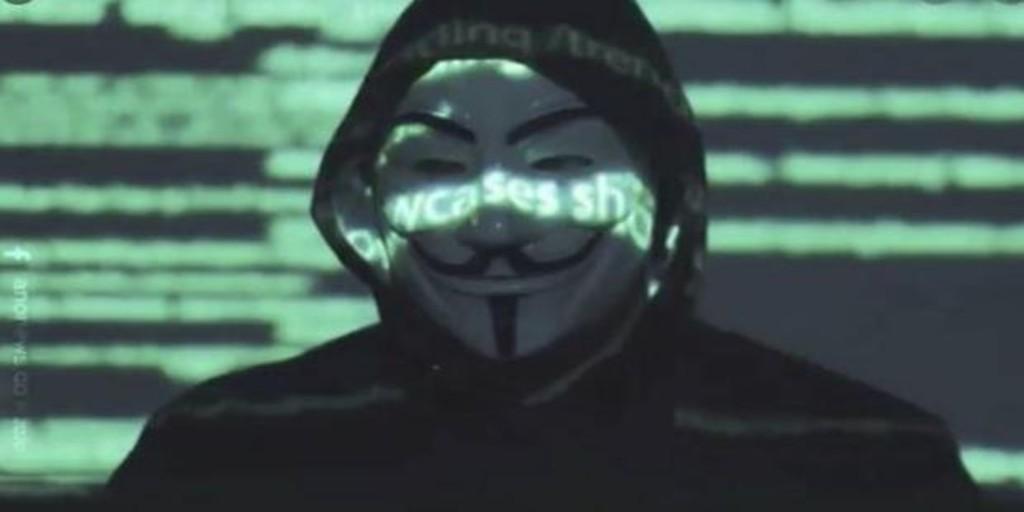 Anonymous le recuerda a Donald Trump su implicación en el caso de Jeffrey Epstein