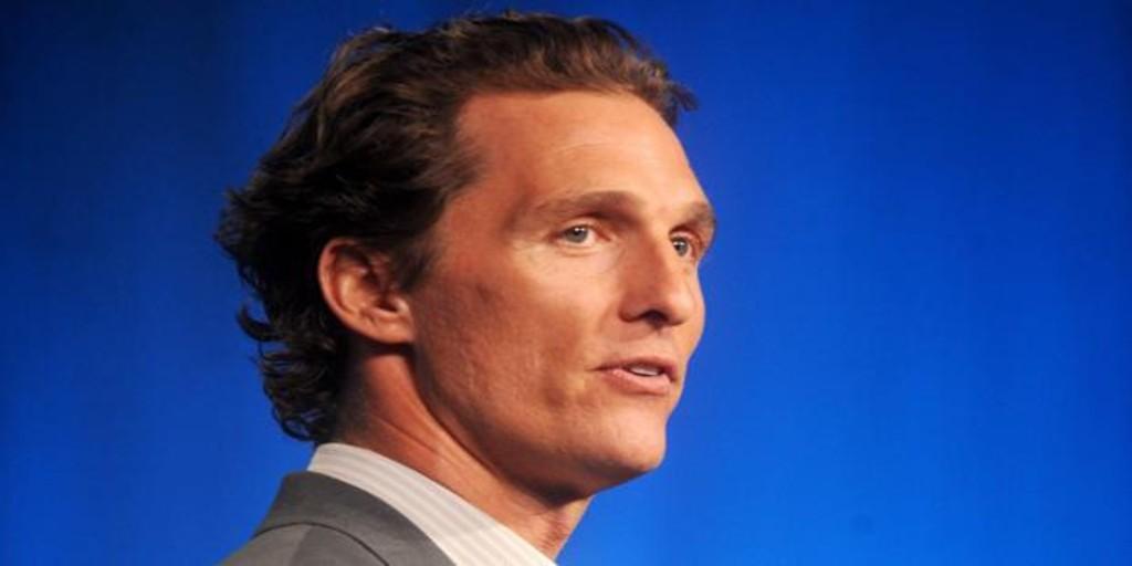 Matthew McConaughey se suma a la lista de famosos que se plantean dar el salto a la política