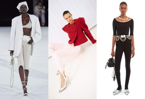 'Fuseau' Leggings  in the collections of Jacquemus, Isabel Marant and Marc Jacobs