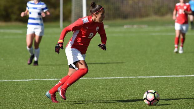 Gloria Morales, jugadora de soccer en Estados Unidos