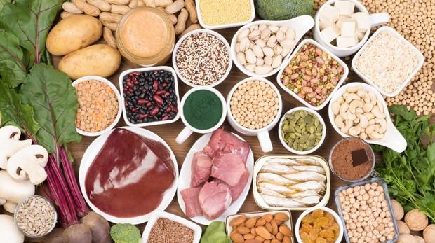 alimentos ricos hierro tabla
