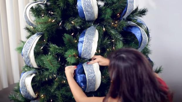 Decorar Arboles De Navidad.Como Decorar Un Arbol De Navidad En Sencillos Pasos