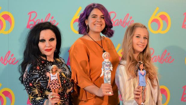 Alaska, Nerea Luis y Desirée Vila, tres ejemplos para Barbie