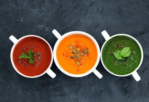 Las cremas de verduras como primer plato son ideales para llenar el estómago