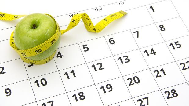 Solo el 5% de las dietas que se inician en septiembre tienen