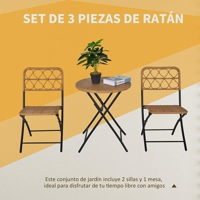Outsunny table and chairs