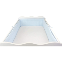 Padded Long Baby Bed Protector
