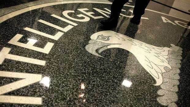 El famoso logotipo de la CIA en Langley