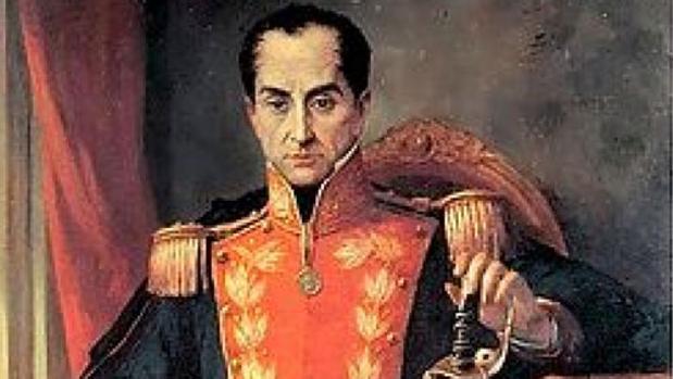 Simón Bolívar (sobre estas líneas) admitió que el terremoto provocó la caída de la Primera República de Venezuela