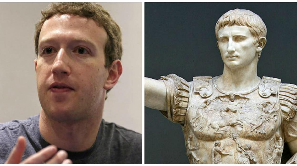 Facebook: La obsesión del fundador de Facebook por el implacable Emperador que liquidó la República romana