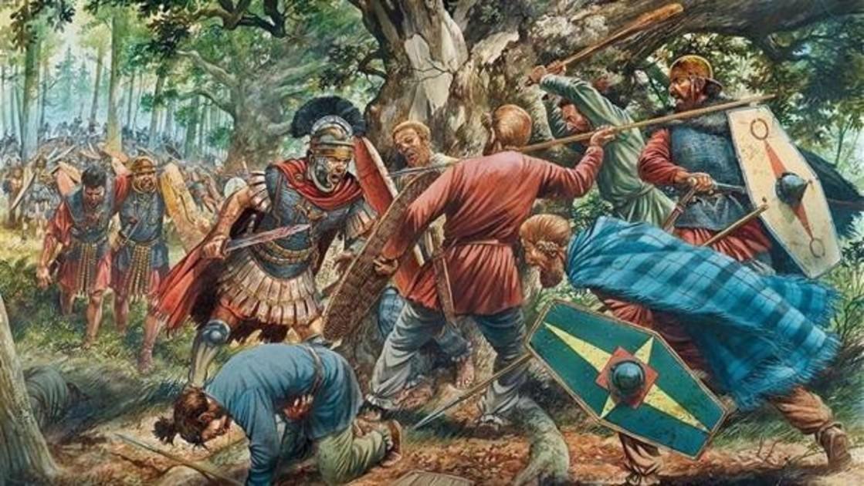 El Exterminio De Tres Legiones Romanas Que Sumio En La Locura Al Emperador Augusto