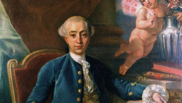 Retrato de Casanova, por Raphael Mengs