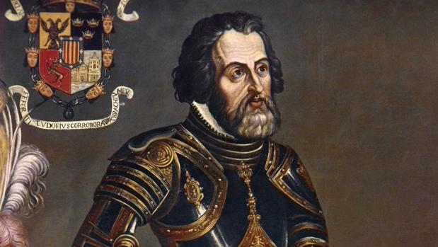 Hernán Cortés,, líder de la conquista de México