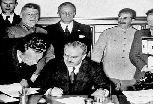 Pacto firmado el 23 de agosto de 1939