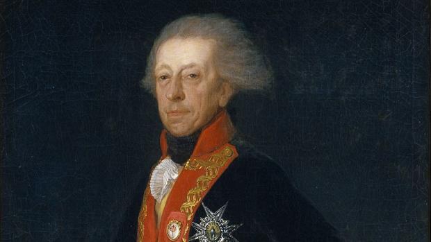 General Antonio Ricardos. Obra de Francisco Goya