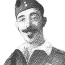 Lacaci, con el uniforme del Tercio
