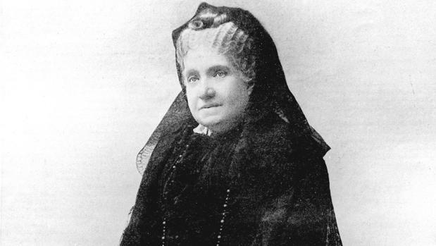 Isabel II de España en un retrato fechado hacia 1900