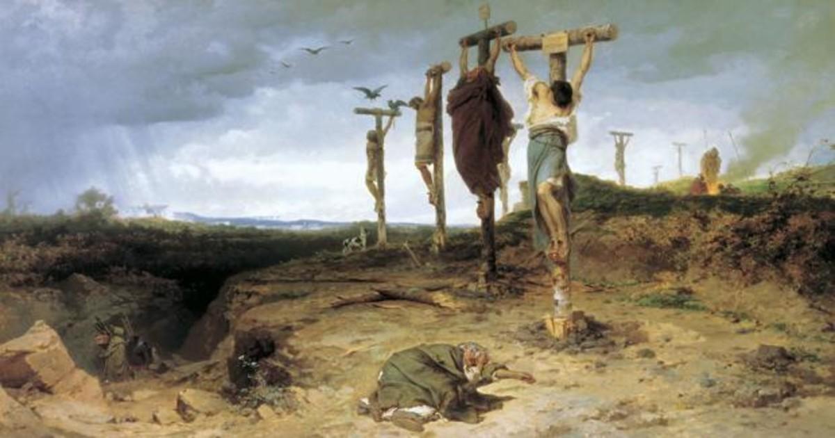 Historia desconocida de la crucifixión: el castigo más atroz (y humillante)  de la Antigua Roma