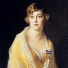 Retrato de Beatriz pintado en 1927 por Philip de László.