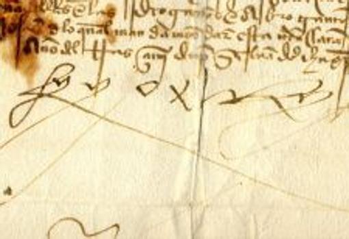 Firma de Fernando II de Aragón