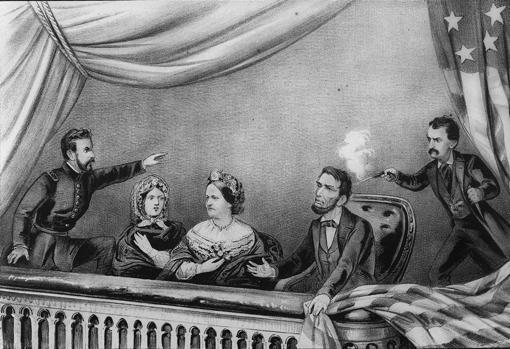 El asesinato de Lincoln en el Teatro Ford
