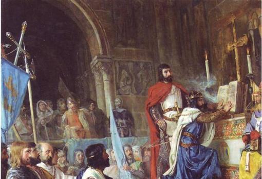 La Jura de Santa Gadea (1887), de Armando Menocal, recrea un episodio legendario