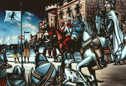 El Cid en su última batalla.