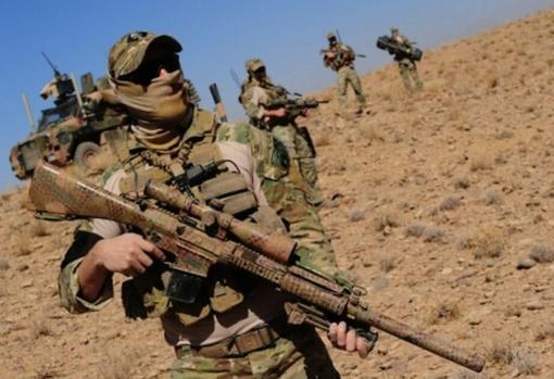 Fuerzas especiales australianas desplegadas en Afganistán