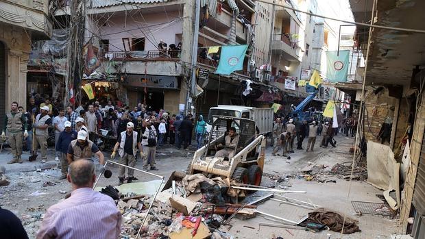 Barrio chií de Beirut donde los yihadistas suníes atentaron el jueves