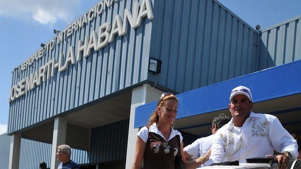Imagen de archivo del aeropuerto de La Habana