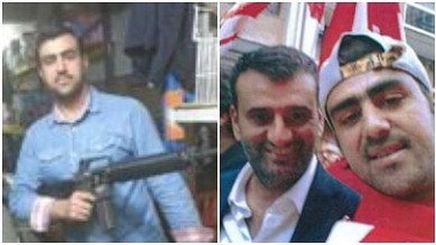 Imagenes de uno de los dos terroristas detenidos en Bari, Hakim Nasiri
