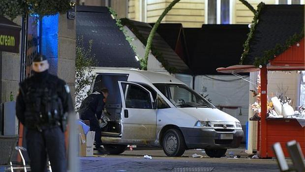 En diciembre de 2014, un hombre atropelló a varias personas en un mercadillo navideño de Nantes