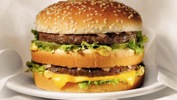 La rebanada que hay en medio del Big Mac se ha agotado en Venezuela